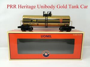 Lionel 6-27418 Pennsylvania *PRR* NS Heritage Unibody Gold Tank Car O NEW!
