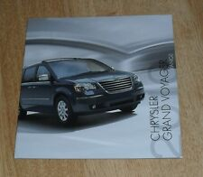 Chrysler Grand Voyager Brochure 2010 - 2.8 CRD LX Touring Limited 3.8 V6 Limited