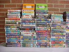 Choose or pick your own Lot of 10 Disney masterpiece classic VHS Movies VIDEOS