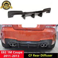E82 1M Rear Diffuser Carbon Fiber Spoiler for BMW 1M Coupe Bumper 2011-2013