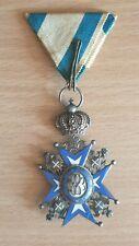 Yugoslavia, Kingdom. Serbia. Order Of St. Sava 4Th Class, Rare - Missing Ball