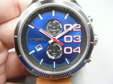 NEW OLD STOCK 50MM DIESEL DZ4322 CHRONOGRAPH DATE QUARTZ MEN WATCH