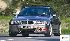 BMW NUOVO ORIGINALE m3 e46 COUPE CSL PARAURTI ANTERIORE GRIGLIA DI ASPIRAZIONE DELL'ARIA SINISTRO N/S 7895883