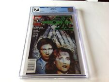 X-FILES 1 CGC 9.8 WHITE PAGES SCULLY MULDER FOX TV 1ST COMIC APP TOPPS COMICS