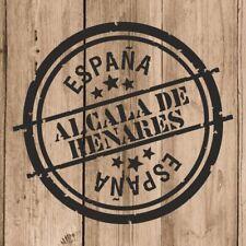 Vinilo de Corte Alcala de Henares España 10 cm Adhesivo Pared Tablet Coche
