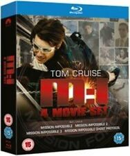 Mission Impossible Quadrilogy Blu-ray 1996 Region
