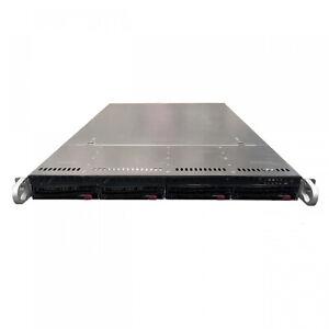 Supermicro SuperChassis CSE-815-5 2x E5-2620v3 2.4GHz 64GB DDR4 NVMe Server