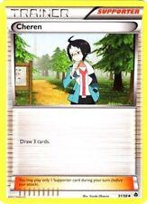 Cheren (91/98)  -Trainer- Emerging Powers- NM - Pokemon
