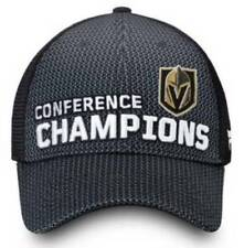 2017 - 2018 Western Conference Champions Las Vegas Golden Knights Snapback Hat