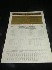 VINTAGE CRICKET SCORECARD Benson & Hedges Cup FINAL 1982 Middlesex v Somerset