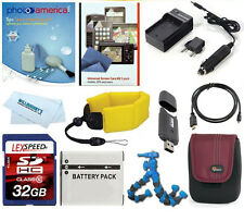 Deluxe Accessory Kit For Panasonic DMC-ZS100 DMC-ZS70 DMC-LX100