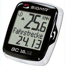 Ciclocomputadores y GPS negro SIGMA SPORT para bicicletas