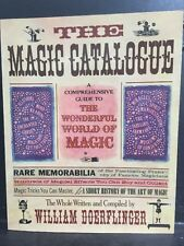 1977 1st Edition The Magic Catalogue by W. Doerflinger History the Art of Magic