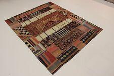 nomades patchwork délavé look antique PERSAN TAPIS tapis d'Orient 2,52 x 2,07