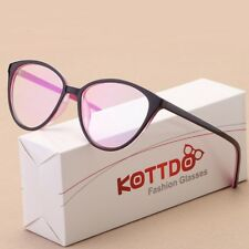 Cat Eye Glasses Retro Frame Women Fashion Eyeglasses Transparent Glass Computer