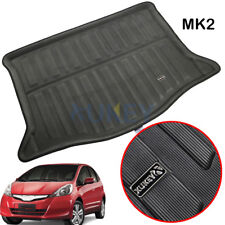 For Honda Fit Jazz 2009-2013 MK2 Boot Cargo Liner Tray Trunk FLoor Mat Carpet