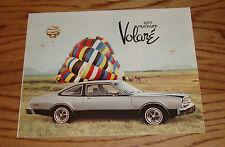 Original 1977 Plymouth Volare Sales Brochure 77