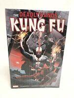 Deadly Hands of Kung Fu Omnibus Volume 2 DEKAL COVER Marvel HC New Sealed
