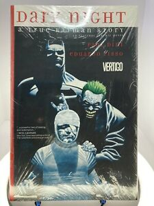 Dark Night: A True Batman Story Vertigo/DC Original Hardcover Graphic Novel NEW!