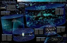 The Universe, tubed Wall Maps Space: NG.PSP602011 (Reference - Space) by Nationa