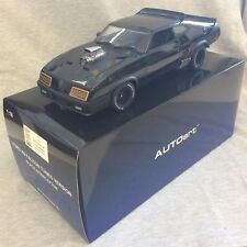 AUTOart Mad Max Ford XB Falcon Tuned version 1:18 Black Interceptor NEW !!