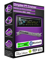 CHRYSLER PT CRUISER RADIO DAB,PIONEER Autoradio con lettore CD USB, Bluetooth