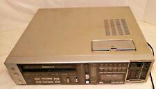 Sanyo Vcr Betamax Vcr 7200 For Parts or Repair