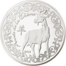 EUR, Vème République, 10 Euro Année de la Chèvre 2015 #85031