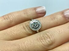 Bague CARTIER platine 950/1000 diamant 0.54 carat F/VS1 5.35 grammes