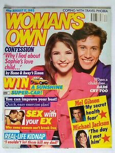 Woman's Own Magazine August 17th 1992