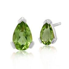 Pear Peridot Fine Earrings
