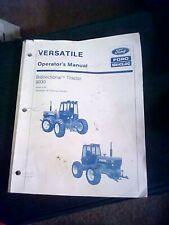 Ford Versatile 9030 Bidirectional Tractor Owner Operator's Manual 42903011