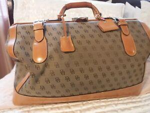 Dooney & Bourke Weekender Duffle Doctor Bag Authentic