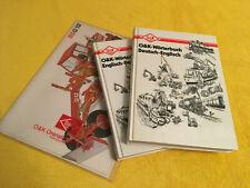 2 Technik-Wörterbücher Deutsch-Englisch-Deutsch Orenstein & Koppel (O&K) - Top