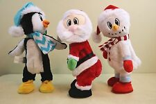 3 GEMMY Christmas TWERKING Dancing SANTA Fireball, SNOWMAN Bang Bang & PENGUIN