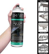Leak Stop Spray n Seal Fix BLACK Instant Waterproof Sealant Mastic Gutter Roof