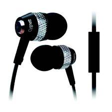 Cygnett Atomic II Headphones With Mic & Remote For iPod, iPhone & iPad - Black