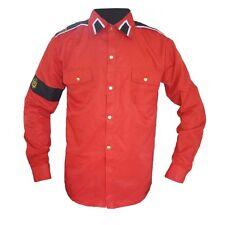 Michael Jackson CTE Hemd ''Man in the Mirror'' rot maßgeschneid für MJ Fans 013