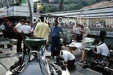 Keke Rosberg & Derek Daly Williams Pit Garage Monaco Grand Prix 1982 Photograph