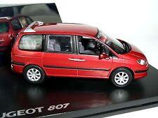 Peugeot 807 luciferrot métalliques, NOREV, 1:43