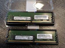 16 Go (2 x 8 Go) de mémoire Lenovo PC4-2933Y (réf : 01AG630) JAMAIS UTILISE