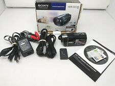Sony HD Handy Cam Model HDR-CX130 in Box With All Accessories Barely Used!