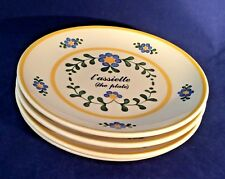 New listing Lecon De Francais Sigma The Tastesetter Set Of 4 Vtg Salad Dessert Plates Used