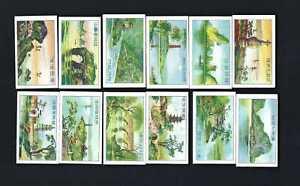 NANYANG - CHINESE VIEWS - FULL SET OF 12 CARDS