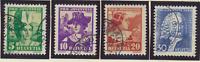 Switzerland Stamps Scott #B69 To B72, Used