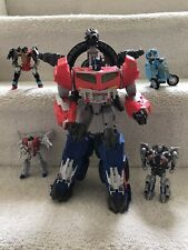 Hasbro Beast Hunter Optimus Prime 14? figure/4 Transformers Lot: Starscream more