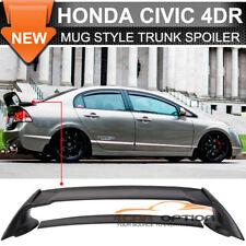 06-11 Honda Civic 4Dr FD2 Rear Trunk Spoiler ABS Wing JDM MUG Mugen RR Mu-gen V2
