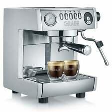 GRAEF Espressomaschine marchesa ES850EU 1470 Watt16 barHochglanz/Silber