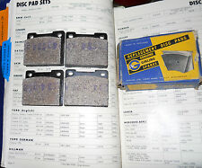 NOS Girling Front Disc Brake Pads 64326615. 1964-7/65 Ford Cortina 1200 --->