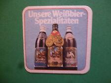 Beer Coaster ~*~ Huber Brau -Familienbrauerei Huber Weissbier ~*~ Tirol, AUSTRIA